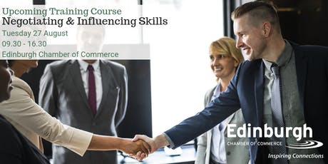 Negotiating & Influencing Skills tickets