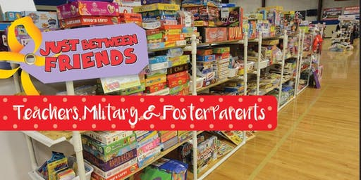 Teacher, Military, and Foster Parent Presale - JBF Williamson County Fall Sale 2019