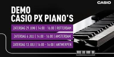 Demo Casio PX pianos
