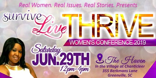 Survive Live Thrive! Empowerment Conference 2019