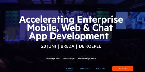SOLD OUT Accelerating Enterprise Mobile, Web & Chat App Development