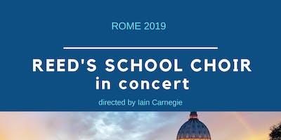 Reed's School Choir (UK) in concert
