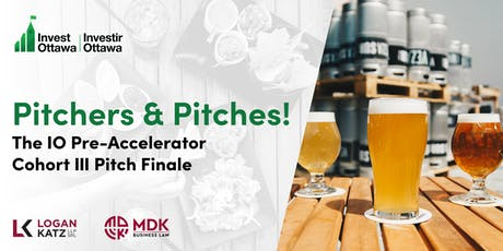 Pitchers & Pitches: The IO Pre-Accelerator Third Cohort Pitch Finale  tickets