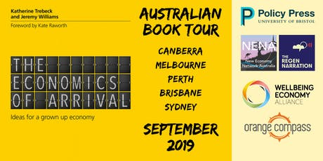Book Tour - The Economics of Arrival - Katherine Trebeck tickets