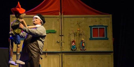 As Aventuras e Desventuras de Pinóquio |Teatro Infantil| Sesc Centro