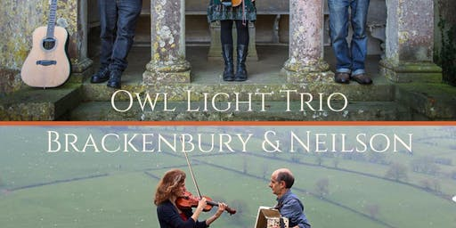 H-Folk Double Bill: Owl Light Trio / Brackenbury & Neilson