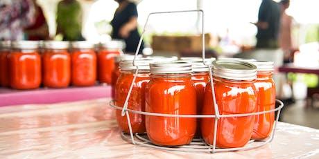 Prenez le champ et préparez vos pots de sauce tomate au Potager Mont-Rouge billets