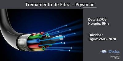 Treinamento em Fibras Ópticas Prysmian