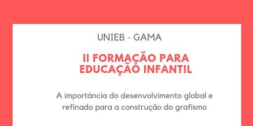 II Formação para Educação Infantil