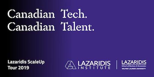Lazaridis ScaleUp Tour 2019 Calgary