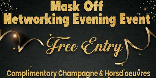 Mask Off Networking Evening Event