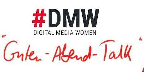 """#DMW Guten-Abend-Talk """"Beruf und Berufung"""" mit Julia Meder Tickets"""