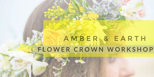 Wildflower Festival Flower Crown Workshop: Session 1