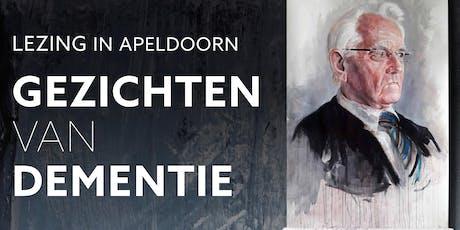 """Lezing """"Gezichten van dementie"""" door Gijs Wanders tickets"""