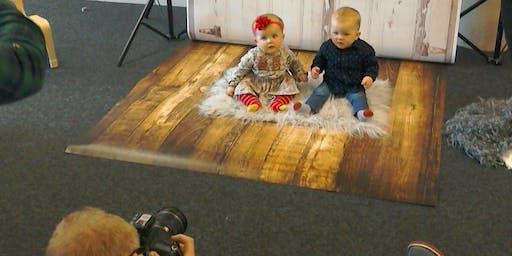 Baby Photo Booth at Chadderton Library