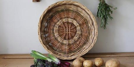 Weave an Irish Skib // Plethu basged Wyddelig gyda//with West Wales Willows tickets