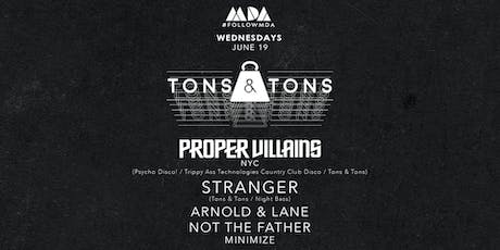 MDA Wednesday Tons & Tons Takeover tickets