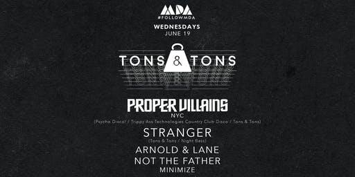 MDA Wednesday Tons & Tons Takeover