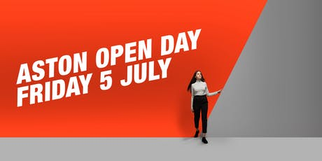 Open Day 5 July tickets