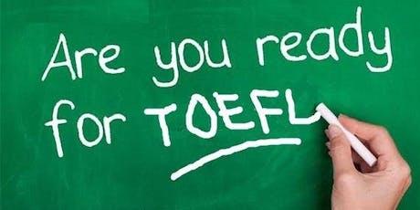 TOEFL Workshop tickets