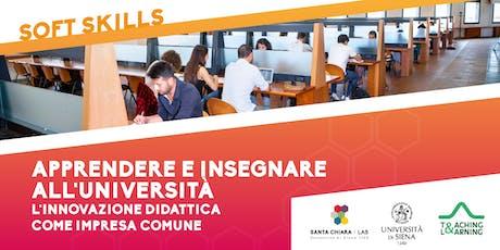 Apprendere e insegnare all'Università - L'innovazione didattica come impresa comune biglietti