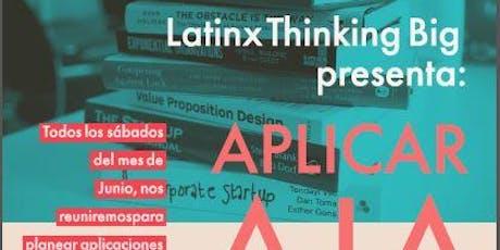 Latinx Thinking Big:  Taller para aplicar exitosamente a las mejores universidades tickets