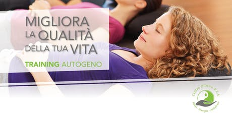 Corso di Training Autogeno tickets