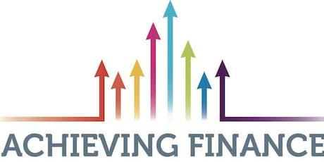 Achieving Finance  - An Initiative of Glenstall Enterprise Hub tickets
