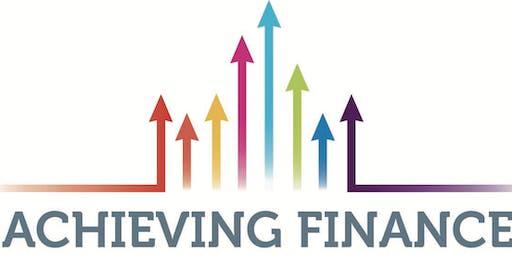 Achieving Finance  - An Initiative of Glenstall Enterprise Hub