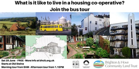 What is it like to live in a housing co-operative? Join the bus tour on 29 June tickets