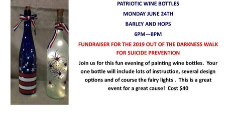 Patriotic Wine Bottles tickets