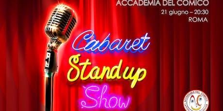 Cabaret Stand-up Show Roma biglietti