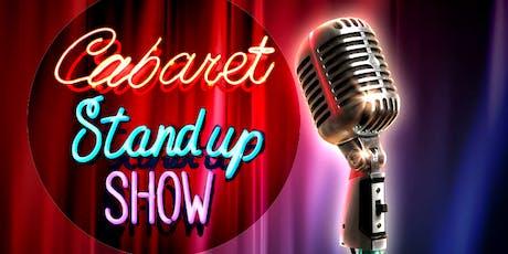 Cabaret Stand-up Show Torino biglietti