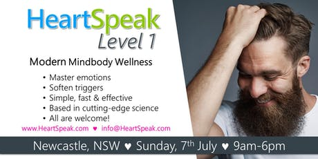 HeartSpeak Level 1 - Sunday, 7 July 2019 - Newcastle, NSW - Australia tickets