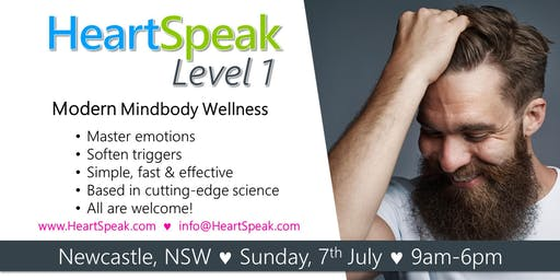 HeartSpeak Level 1 - Sunday, 7 July 2019 - Newcastle, NSW - Australia