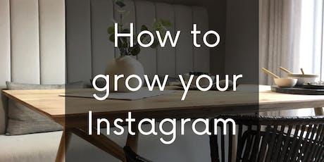 Instagram Influencer Workshop tickets