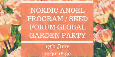 Garden party - Seed Forum Global Awards Pre-Celebration tickets