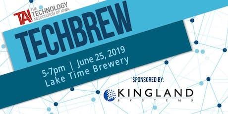 TechBrew June tickets