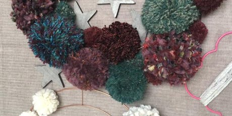 PomPom and Prosecco wreath making workshop! tickets