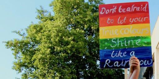 Pride Placard Making Workshop with artist Kate Genever
