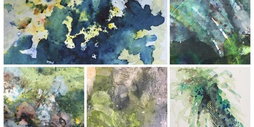 Lichen and Funghi - Ink and Drawing workshop