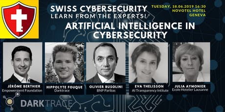 Swiss CyberSecurity: Artificial Intelligence in CyberSecurity tickets