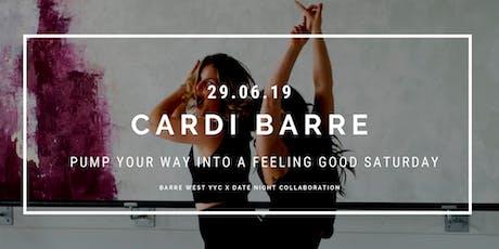 Cardi Barre Fitness  tickets