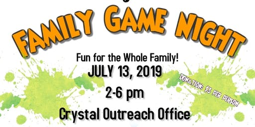 """Seeds To Identity 's """"Family Game Night"""""""