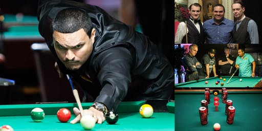 The Art of Billiards — Workshop with Tony Robles, Professional Pool Player