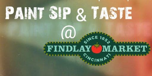 Paint Sip & Taste @ Findlay Market