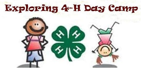 Cloverbud 4-H Day Camp tickets