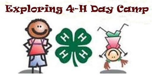 Cloverbud 4-H Day Camp
