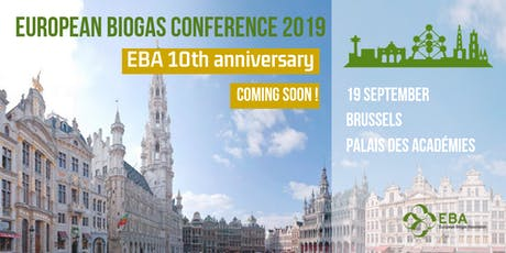 European Biogas Conference - EBA 10th anniversary tickets