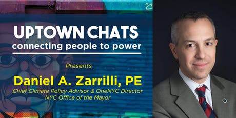 WE ACT presents Uptown Chats with Daniel Zarrilli tickets